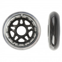 Rollerblade 80mm 82A Wheels Clear