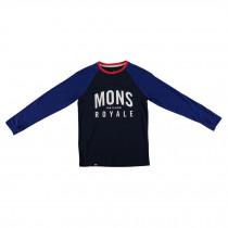 Mons Royale Boys Groms Long Sleeve