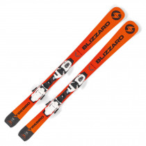 2020 Blizzard Firebird Comp Junior Skis w/ FDT Junior Bindings