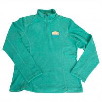 Stowe VT Women's Textured Quarter Zip Terramo Fleece