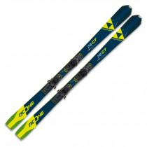 2021 Fischer RC ONE 78 GT Skis w/ RSW 10 GW Powerrail Bindings