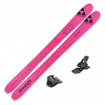 2022 Fischer Ranger 102 FR Skis w/ Tyrolia Attack2 13 GW Bindings