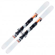 2021 Line Wallisch Shorty Jr Fastrak Skis w/ Marker FDT Bindings
