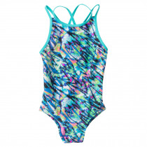 TYR Bolt OliviaFit Girls Bathing Suit