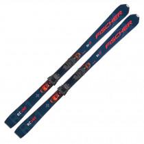 2022 Fischer RC ONE 86 GT Skis w/ RSW 12 GW Powerrail Bindings