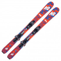 2022 K2 Junior Indy Fastrak Skis w/ Marker FDT Bindings